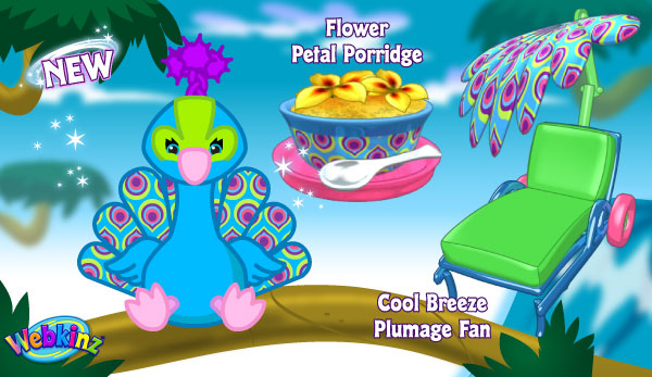 by Sally Webkinz    Mystic Pony. Pretty Peacock   WKN  Webkinz Newz