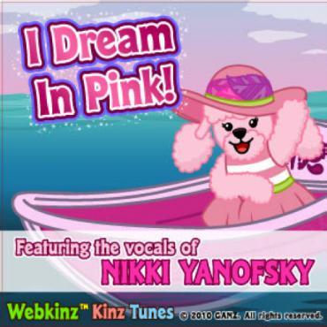I dream in pink album cover