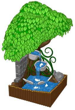 Sneak Peek: Enchanted Garden Cascading Fountain | WKN