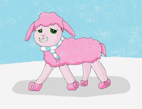 cotton candy sheep winners