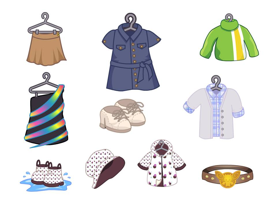 New Spring Clothing Items Are Here Wkn Webkinz Newz