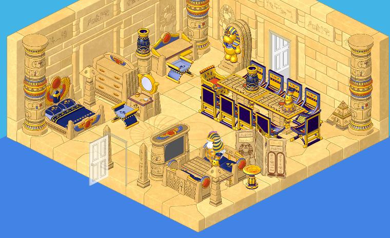 The Egyptian Room Theme   WKN: Webkinz Newz