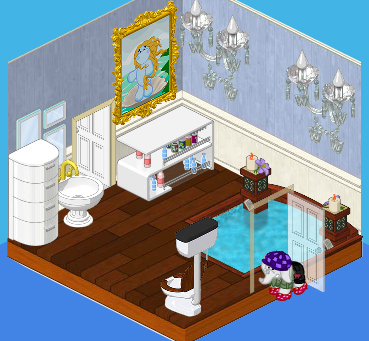 ms stripes bathroom wkn webkinz newz