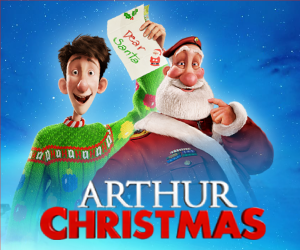 Arthurs Christmas.Arthur Christmas Blu Ray Combo Pack In Stores November 6th