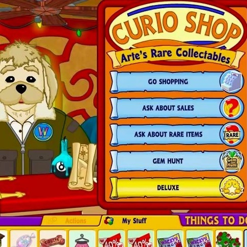 About the Curio Shop