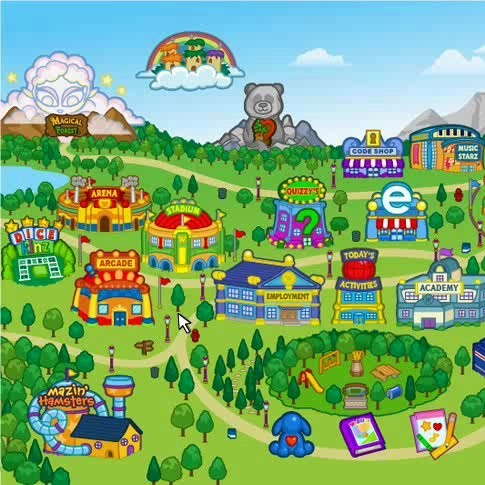 About the Webkinz Stadium