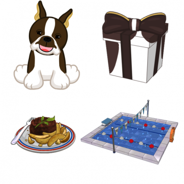 Webkinz Brown Boston Terrier Plush Toy