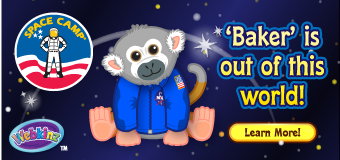 NASA Space Camp Webkinz Plush Toy