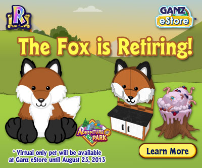 The Webkinz Fox Will Soon Be Retired Wkn Webkinz Newz