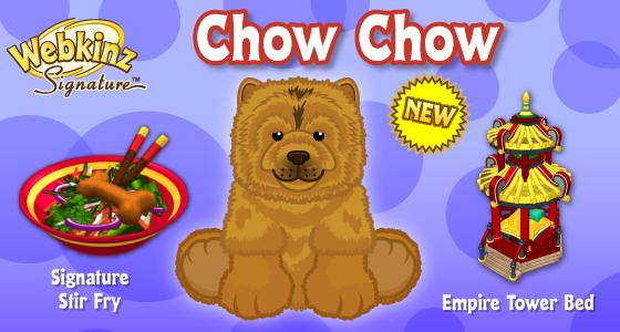Signature Chow Chow Wkn Webkinz Newz