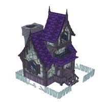 Rickety Haunted Cottage