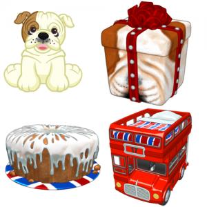 Webkinz British Bulldog
