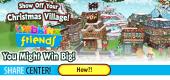 christmas village 140x260