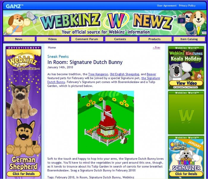 8 Responses to Throwback Thursday  Classic Webkinz Newz. Throwback Thursday  Classic Webkinz Newz    WKN  Webkinz Newz