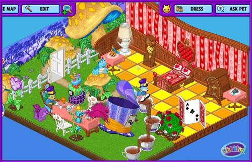 New Mad Hatter Slide For The Whimsical Wonderland Room