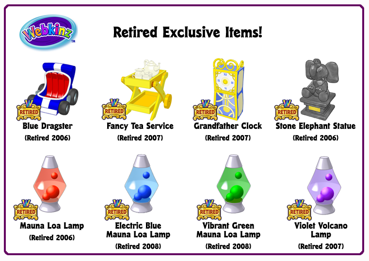 Ultimate Collector S Items Retired Exclusive Items Wkn