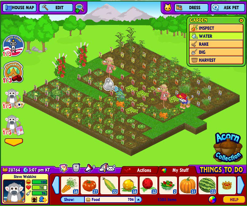 Webkinz Tips And Tricks Growing Gardens Wkn Webkinz Newz