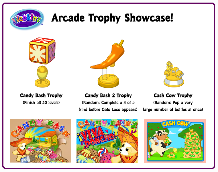 how to win webkinz cash cow trophy