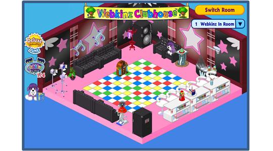 Winning Clubhouse Room Design The Party Lounge WKN Webkinz Newz