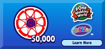 OneWebkinzWorld 50,000 Points Prizes | WKN: Webkinz Newz
