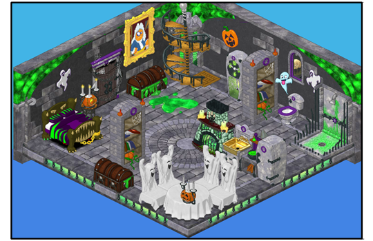 Build a haunted house for your webkinz this halloween for Build a haunted house