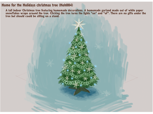Home For The Holidays Room Theme Concept Drawings! | WKN: Webkinz Newz