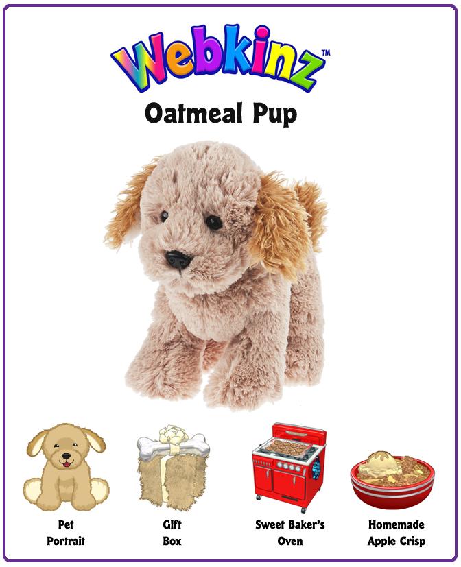 New Webkinz Plush Pet: Oatmeal Pup Unboxing Video! | WKN: Webkinz Newz