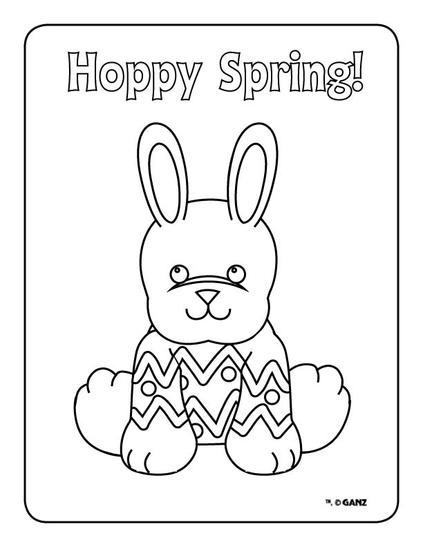 webkinz halloween coloring pages - photo#4