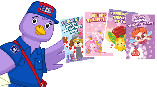 Print your own Webkinz Valentines Day Cards – Print Your Own Valentines Card