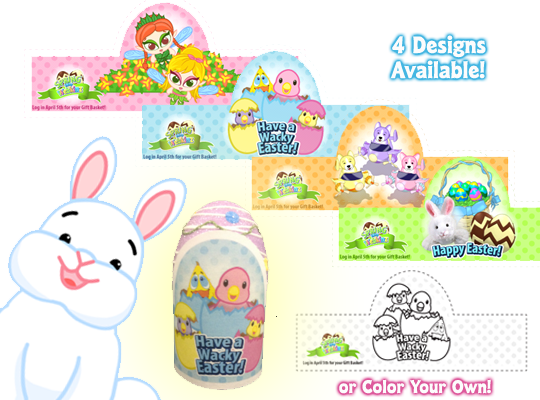 Webkinz easter coloring pages | 400x540