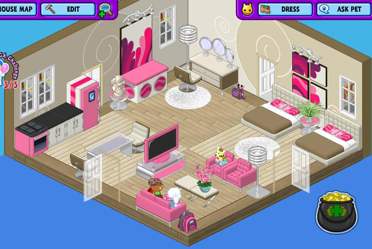 Webkinz Room Ideas spa room ideas cute teen girl room