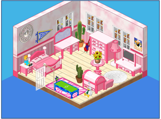 Build A Pretty In Pink Room Before March 20th Wkn Webkinz Newz