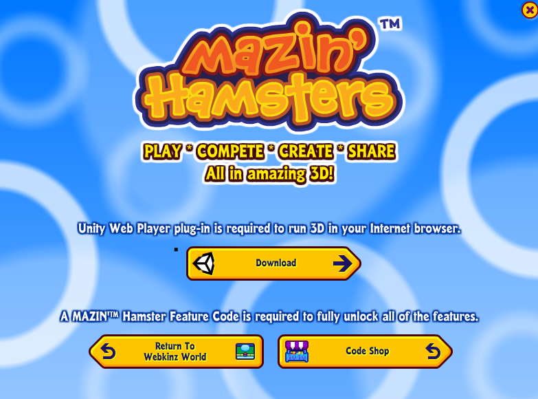 MAZIN' Hamsters: Important Update for Chrome | WKN: Webkinz Newz