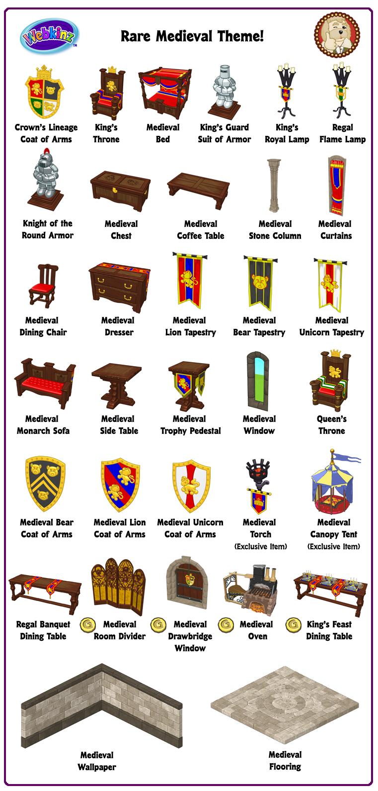 webkinz medieval