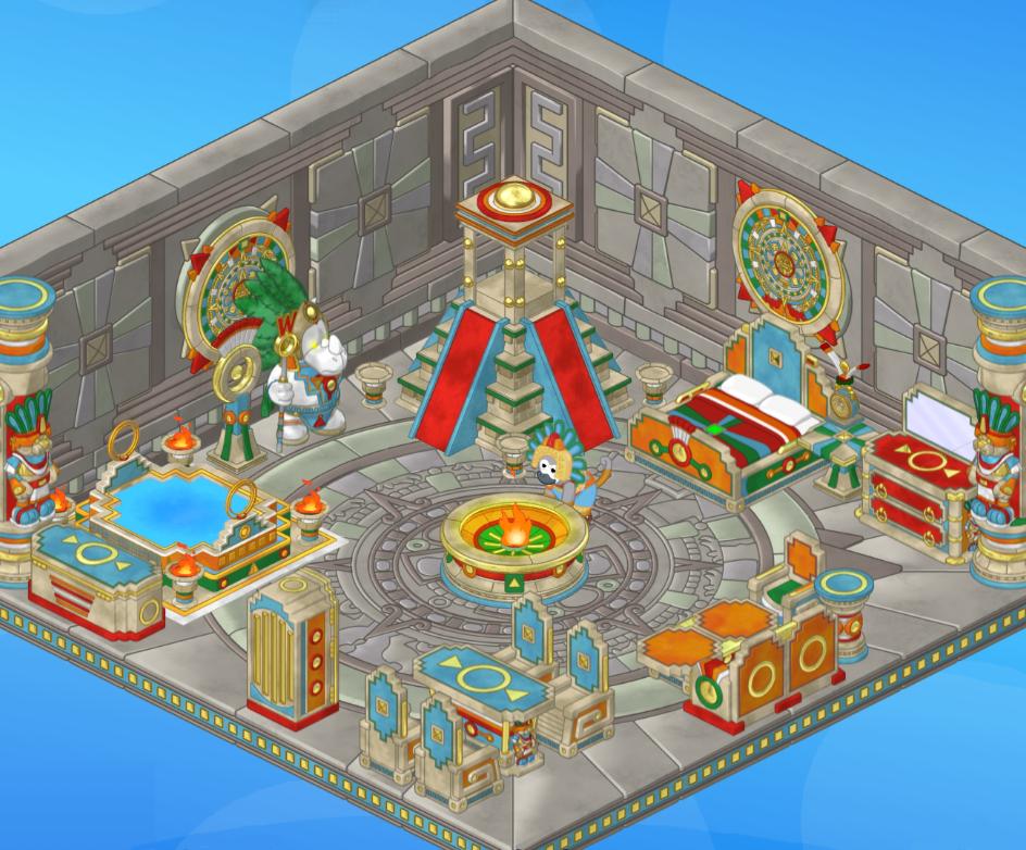 Rare Theme Showcase: Aztec Theme!