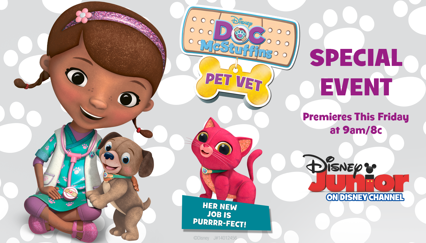 To Celebrate This Special Event We Are Giving Away Doc McStuffin Pet Vet