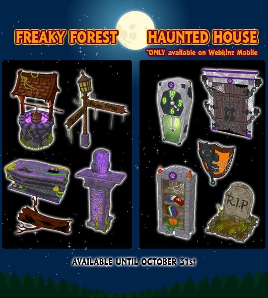 Download Halloween Webkinz Background