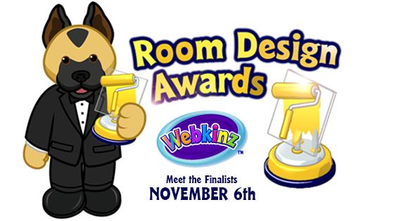 Get ready for the room design awards wkn webkinz newz for Apartment design awards