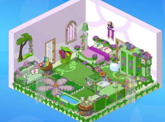 Webkinz Game Rooms
