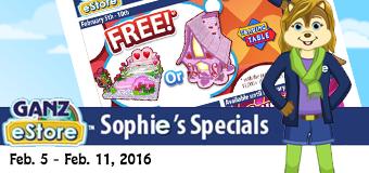 Sophie's Specials