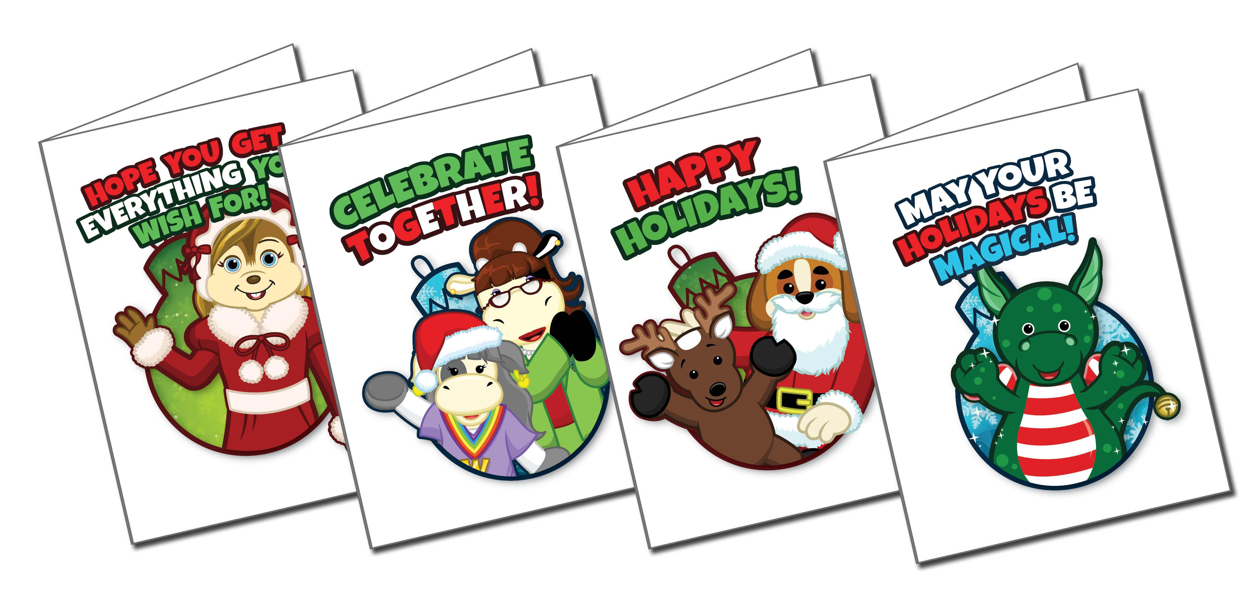 Printable Christmas Cards With Codes Wkn Webkinz Newz