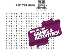 Tiger Word Search