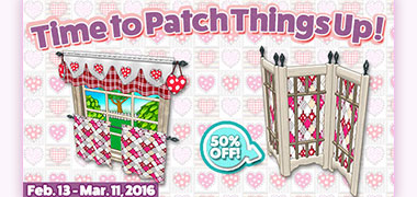 More Quilted Hearts items available!