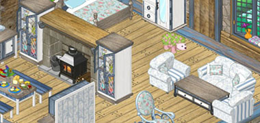 NEW Countryside Cottage Room Theme has arrived in Webkinz World!