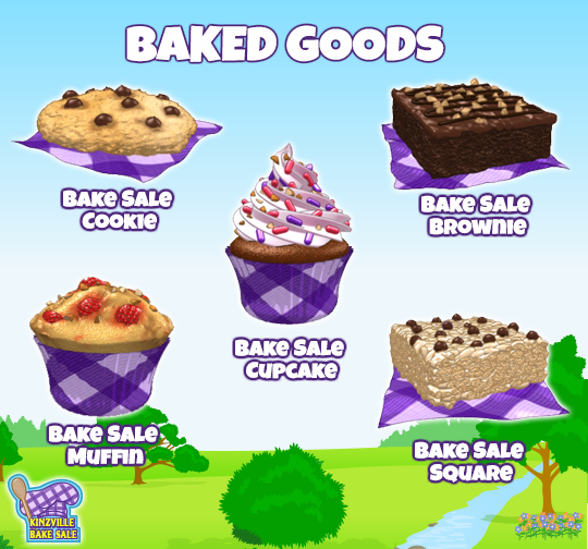 the kinzville bake sale starts today wkn webkinz newz
