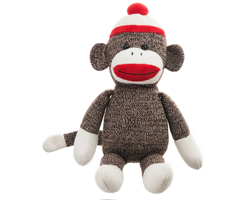 Knit Sock Monkey - POTM