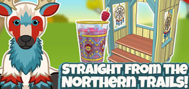 The Northern Trails Stag has OFFICIALLY arrived in Webkinz World!