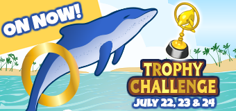 Dashing Dolphin Trophy Challenge ON NOW!