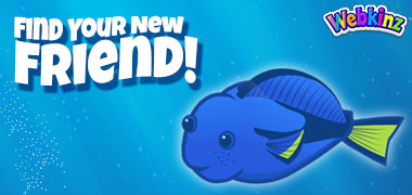 The Blue Tang has arrived in Webkinz World!