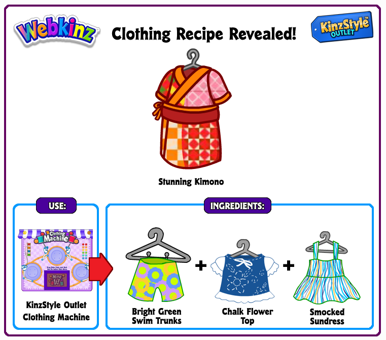 Webkinz clothing machine recipes 1195519 seafoodnetfo webkinz clothing machine recipes forumfinder Choice Image